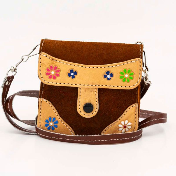 handmade-iris-girls-brown-suede-leather-mexican-handbag-front-view-125