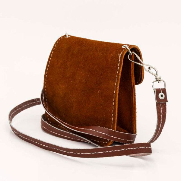 handmade-iris-girls-brown-suede-leather-mexican-handbag-front-view-130