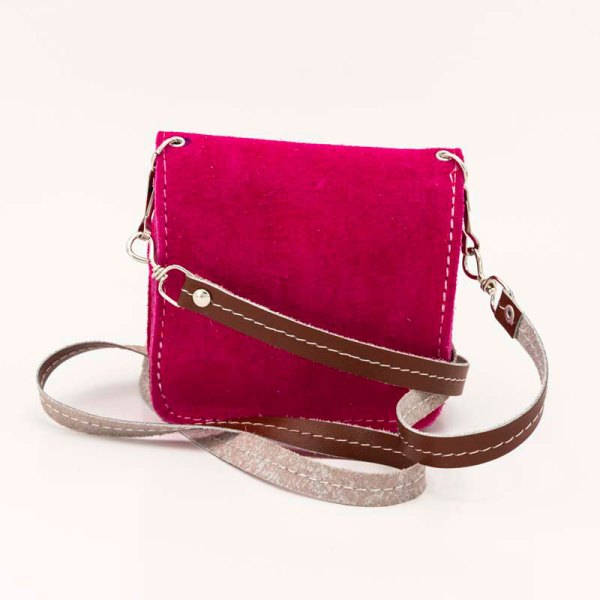 handmade-iris-girls-fuchsia-suede-leather-mexican-handbag-front-view-120