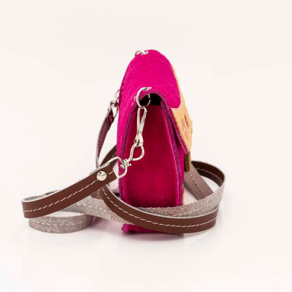 handmade-iris-girls-fuchsia-suede-leather-mexican-handbag-front-view-122