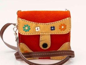 handmade-iris-girls-orange-suede-leather-mexican-handbag-front-view-107