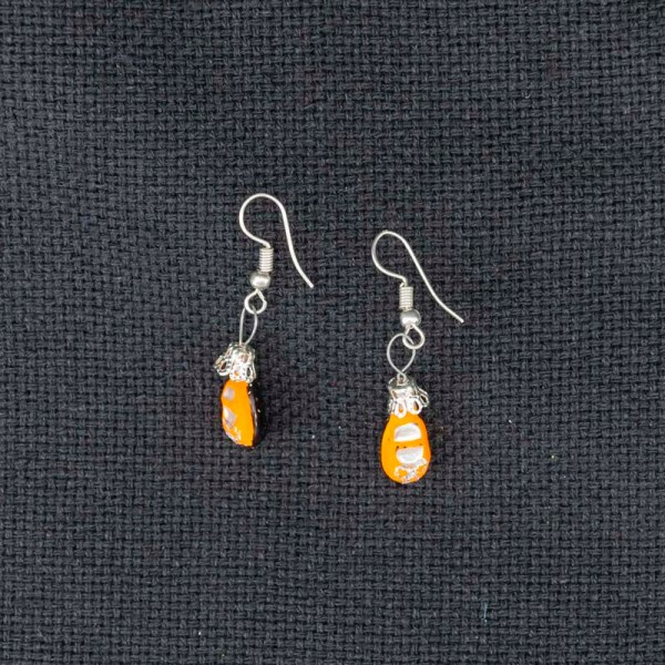 shoes-hand-blown-glass-orange-earrings-155