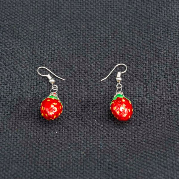 strawberry-hand-blown-glass-red-earrings-019