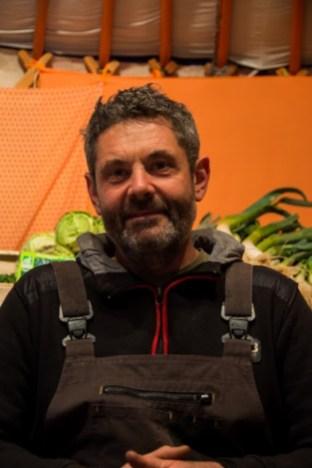 Christophe Aubry, maraîcher