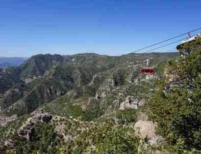 Mexiko Kupferschlucht Zugreise Seilbahn