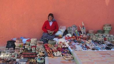 Mexican crafts handmade by the Rarámuris ladiess