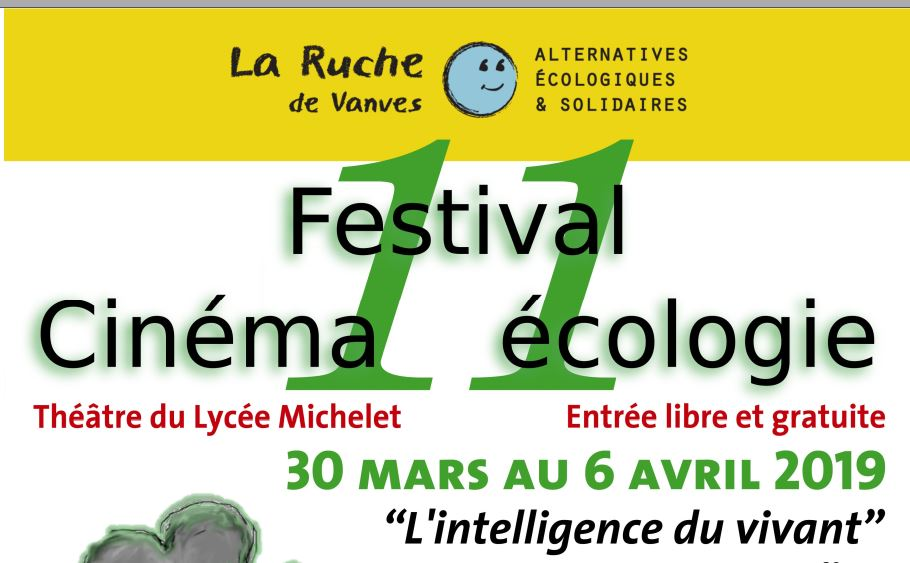 Festival Cinéma-Ecologie 2019 – La Ruche de Vanves