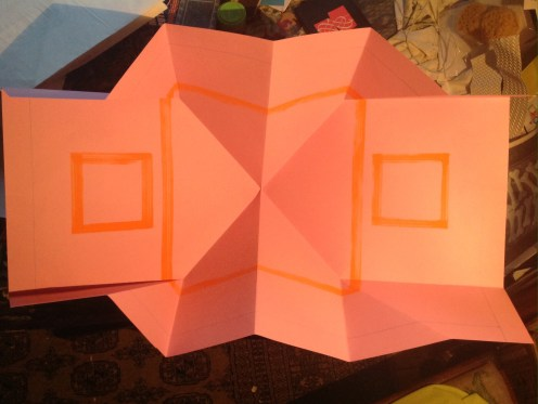 probable end point: orange areas for images, fine line A2 boarder