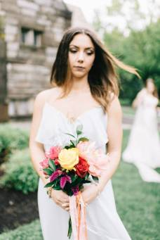 bridesmaid, PA amaranth florist flowers wedding.