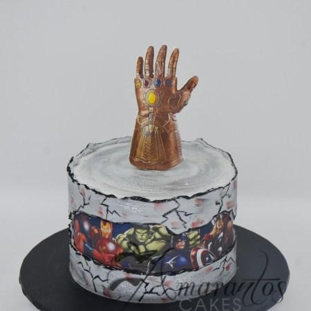 Superhero cake – AA18