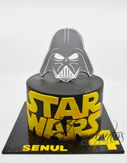 Star Wars Cake - Amarantos Cakes AC150