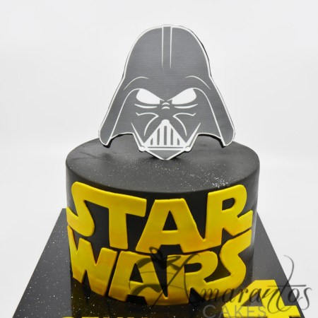 Star Wars cake with logo – AC150