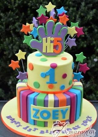 Two tier Hi 5 Cake – AC280