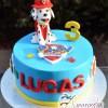 Paw Patrol 3D Dog Cake - Amarantos Melbourne Cakes