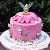 Tinker bell cake - Fairies Birthday Cakes - Amarantos Melbourne
