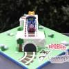 Number One Thomas Cake - Amarantos Custom Made Cakes Melbourne