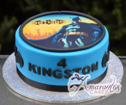 Batman Themed Cake - Amarantos Designer Cakes Melbourne