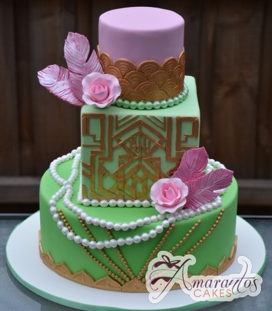 Three tier Gatsby Cake – AC428