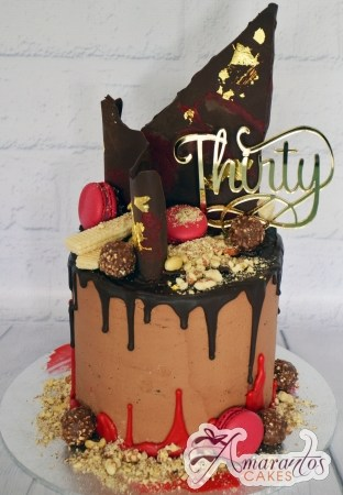 Two tier drizzle cake – AC442