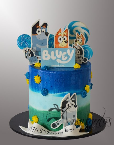 AC545 Bluey and Bingo Cake