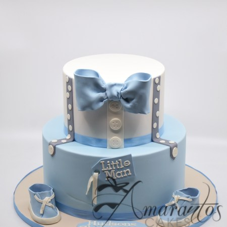 Two tier cake with bow – CC11