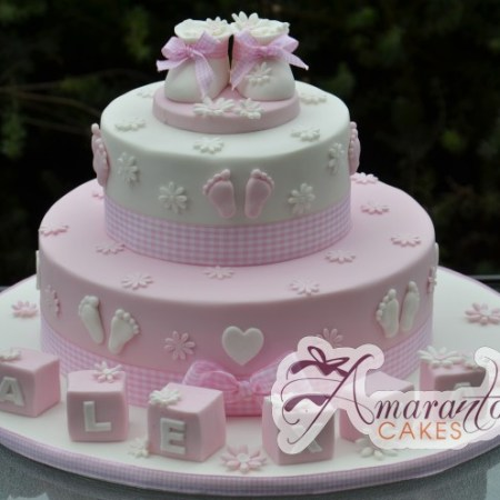 Two tier Booties Cake- CC16