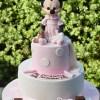 Two Tier with Minnie Cake - Amarantos Designer Cakes Melbourne