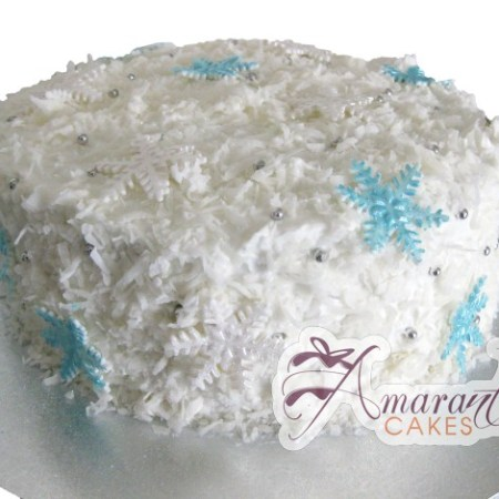 Snow flake cake- CH14