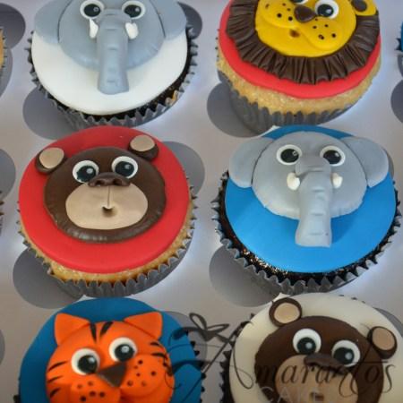 Animal Cup Cakes- CU01
