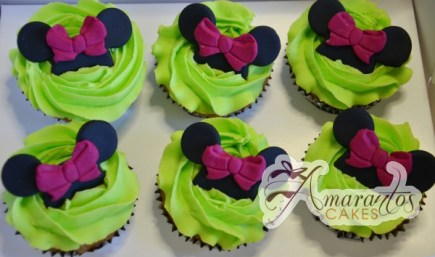 minnie mouse cup cakes CU12