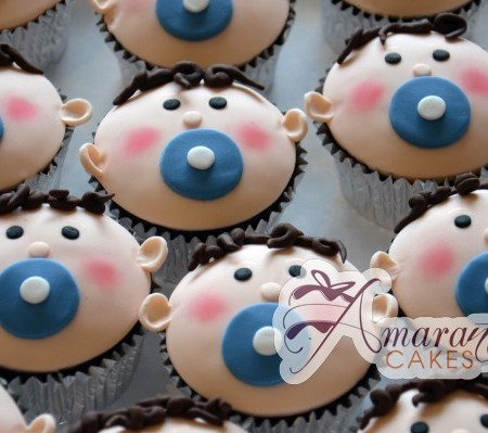 Baby Face Cup Cakes- CU37