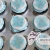 Damask Cup Cakes - Amarantos Designer Cakes Melbourne