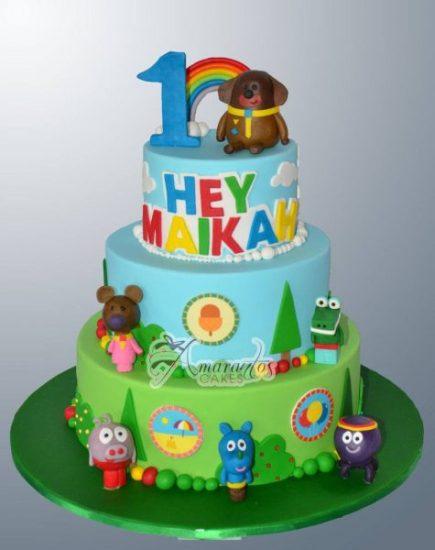 Hey Duggee Themed Cake NC124 – Amarantos Designer Cakes Melbourne