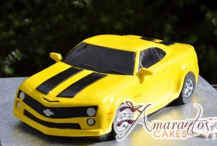 3D Camaro Bumblebee Cake - Amarantos Cakes Melbourne