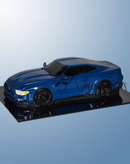 Mustang car cake NC158