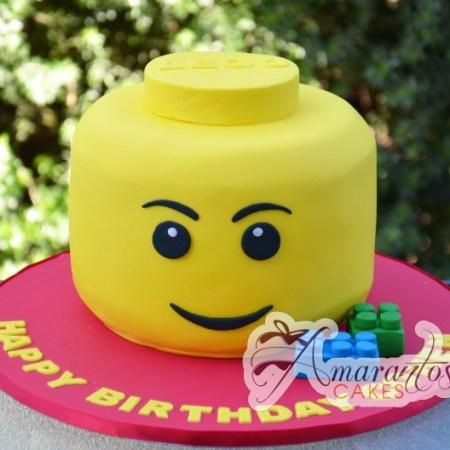 Lego Head Cake- NC16