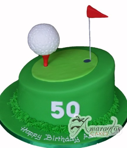 Putting Green with golf ball- NC182