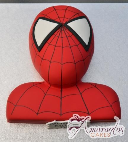 2D Spiderman Cake - Amarantos Birthday Cakes Melbourne