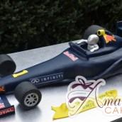 3D Formula One Car Cake - Amarantos Custom Made Cakes Melbourne