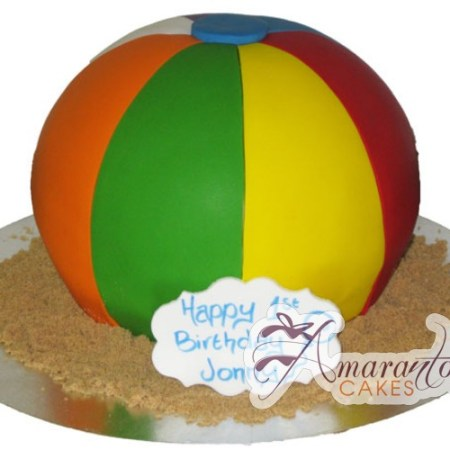 3D Beach ball- NC246
