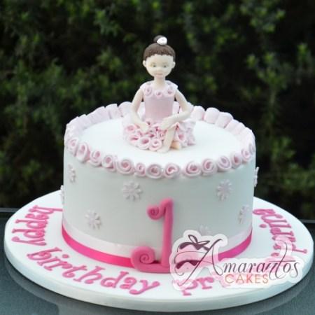 Ballerina kids cake - Amarantos Designer Cakes Melbourne