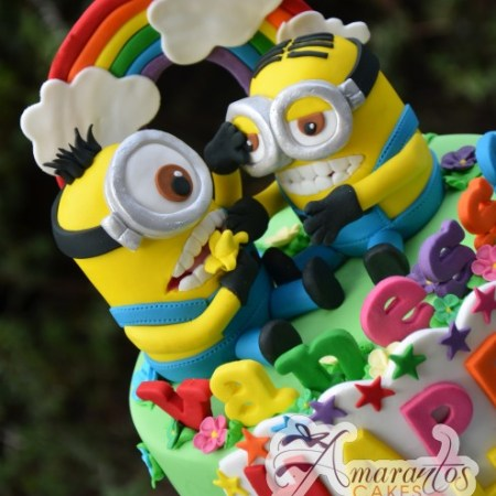 Base Cake with minions – NC277