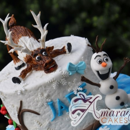 Two tier Frozen Cake – NC288