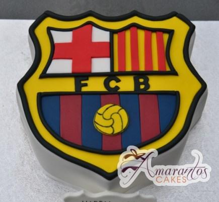 NC298 – Barcellona FC logo cake