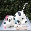 3D Dalmatian Dog Cake - Amarantos Cakes Melbourne