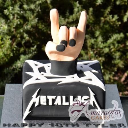 Metallica Cake – NC330