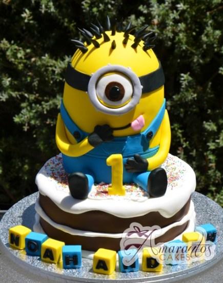 Minion Cake NC371