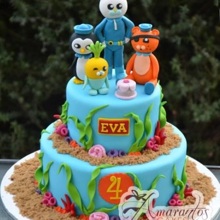 Two tier Octonauts cake – NC399