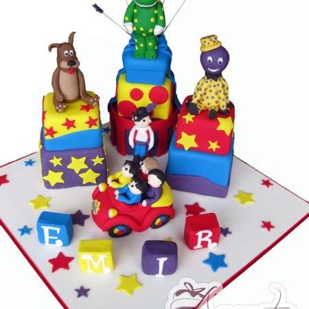 Wiggle themed cake- NC422