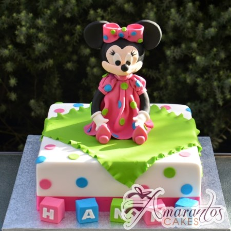 Base With minnie Cake - Amarantos Cakes Melbourne